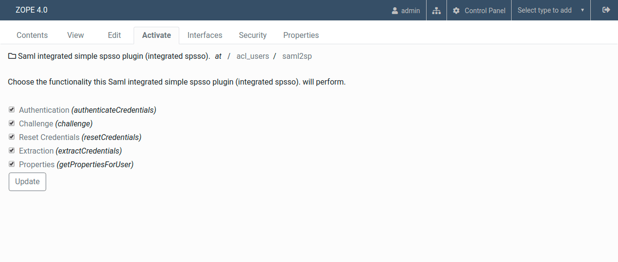 Plone - enable all plugins