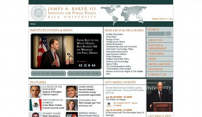 James A. Baker III Institute for Public Policy Rice University