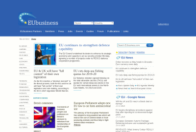 EUbusiness Online Information Service
