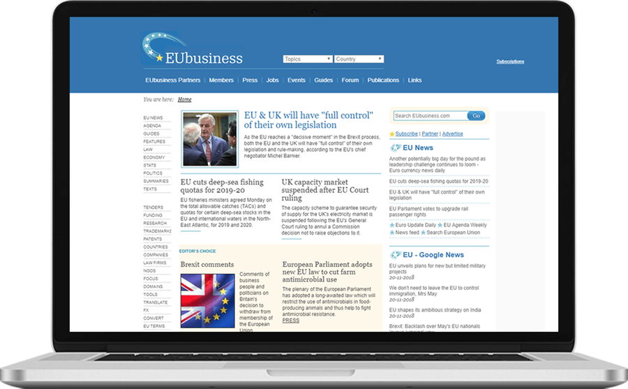 online EU business information service