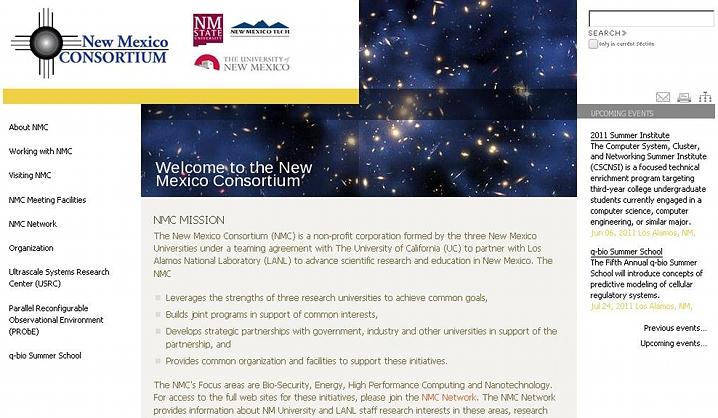 New Mexico Consortium: Conferences