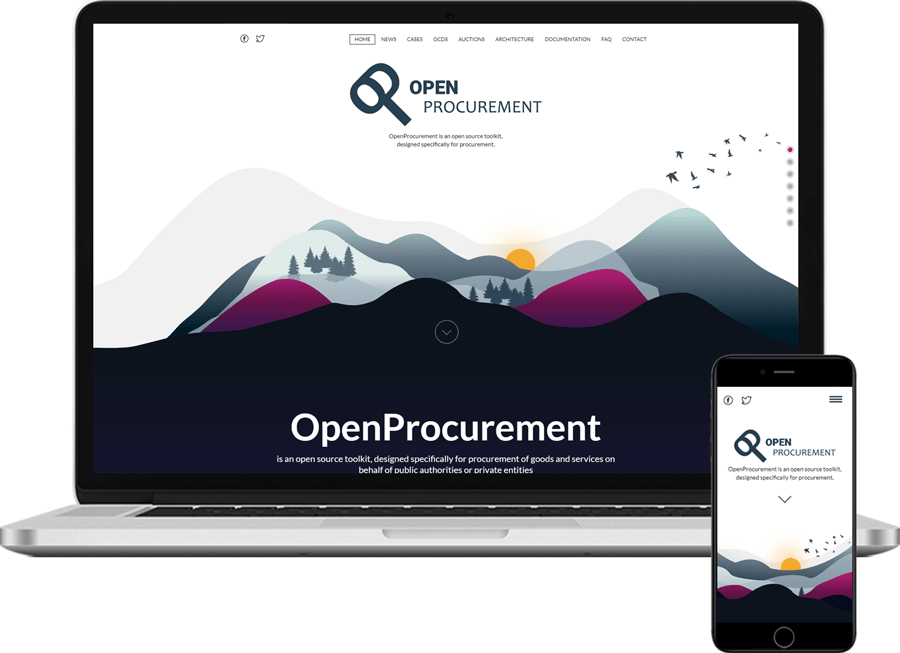 OpenProcurement.io Plone website