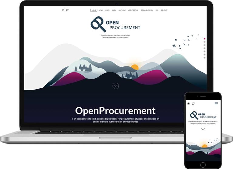 OpenProcurement.io homepage