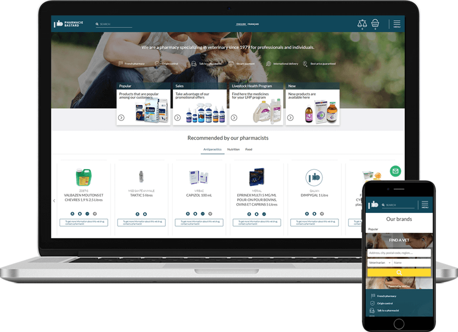 PharmacieBastrard - Oscar/Django based e-commerce web stores