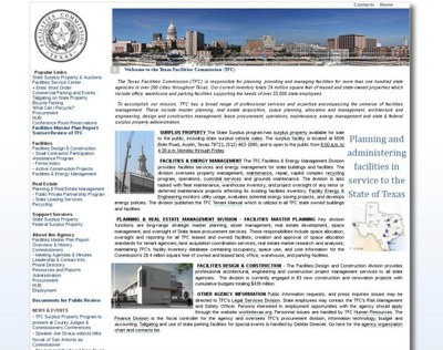 The Texas Building and Procurement Commission