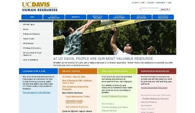 University of California Davis Human Resources