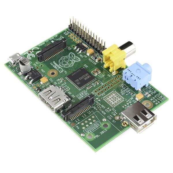The Raspberry Pi single-board computer
