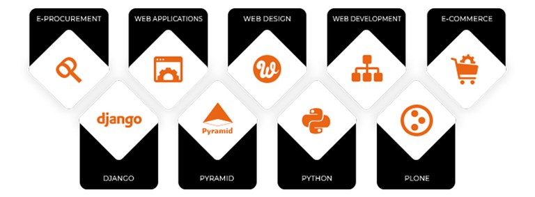 Areas of expertize – Plone, Python, Pyramid and Django