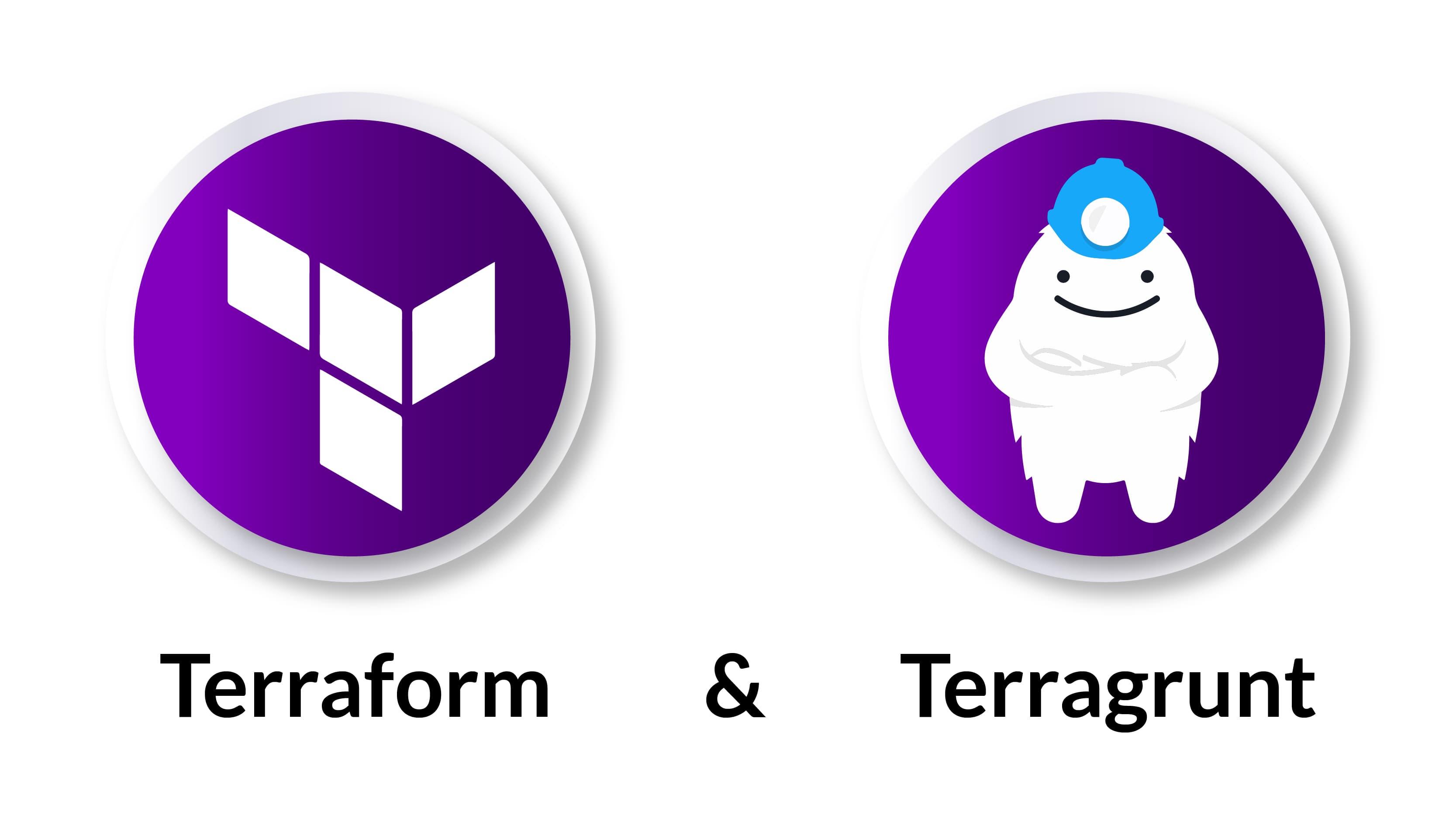 Terraform and Terragrunt logos