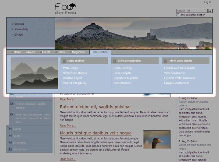 quintagroup.megamenu for Flow theme