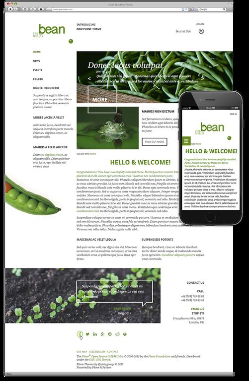 Green Bean Plone Theme.png