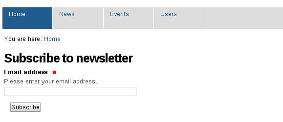 """""""MailChimp newsletter view in Plone"""