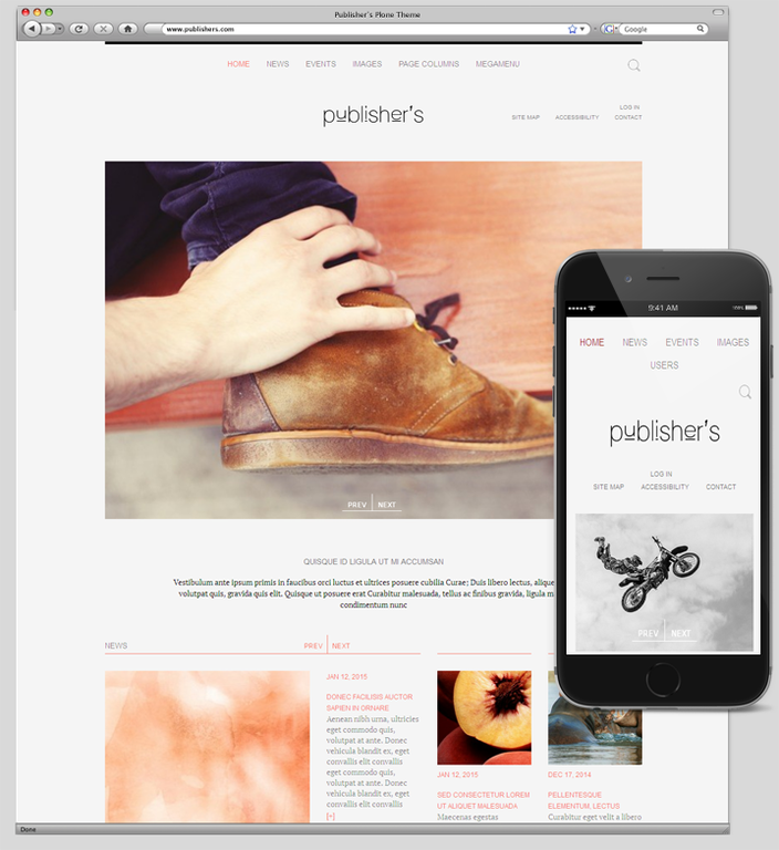 Publishers Plone Responsive Theme.png