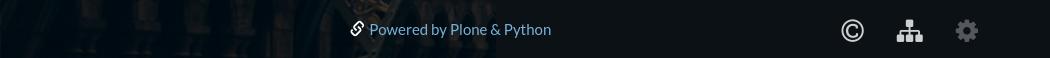 Plone colophon