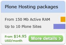 Plone Hosting